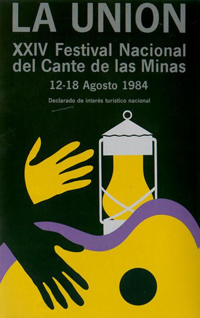 Cartel del Cante de las Minas de 1984