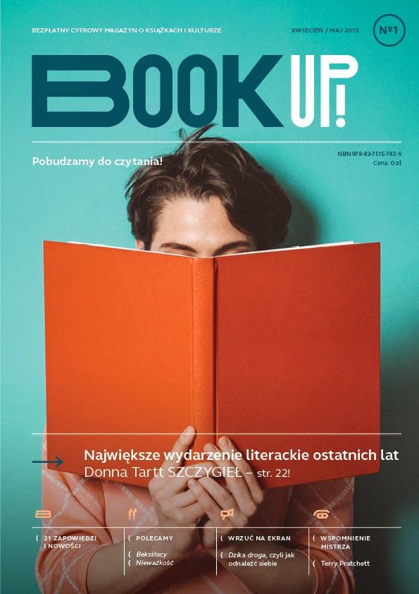Bezpłatny magazyn o książkach i kulturze- BOOK UP!