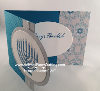 happy hanukkah card inside
