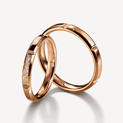 フラージャコー 鍛造 鍛造リング 結婚指輪 マリッジリング ゴールド ピンクゴールド チョコレート