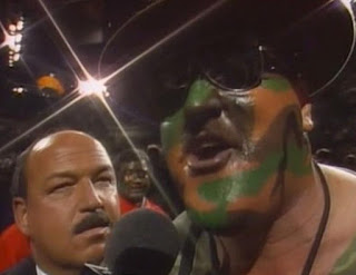 WWF (WWE) SURVIVOR SERIES 1990 -  Sgt. Slaughter