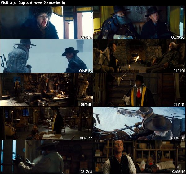 The Hateful Eight 2015 English DVDScr 999MB