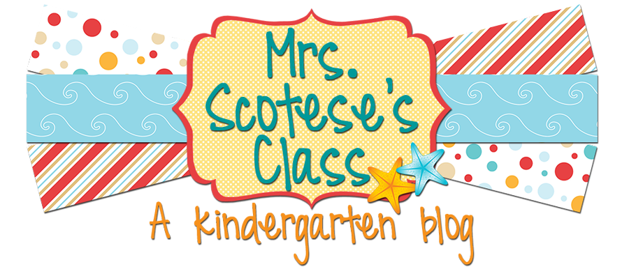 Mrs. Scotese's class.....A kindergarten blog