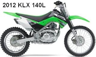 2012 Kawasaki KLX 140L
