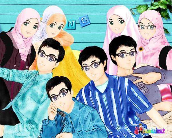 Koleksi Gambar Keluarga Muslim