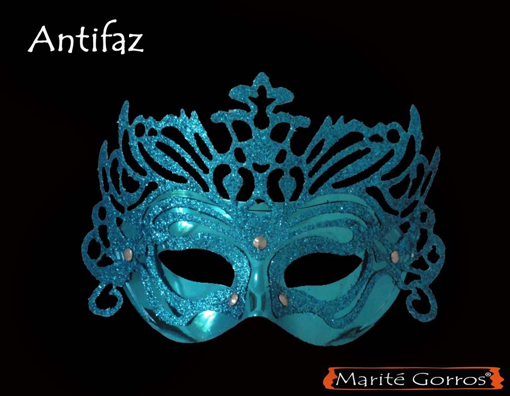 ~SÁBADO DE MARATÓN DIVAGUÍSTICO~ Venecia S. XVIII: Baile de máscaras Antifaz+veneciano+turquesa
