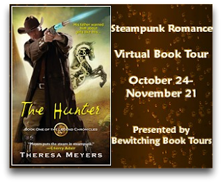 Steampunk Romance Virtual Book Tour: Guest Post with Theresa Meyers