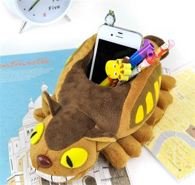my neighbor totoro pen holders at CoolPencilCase.com