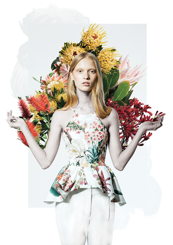 Diet and nutrition tips to beat hay fever / what to eat to reduce hay fever symptoms / Photo of Cameo The Label Spring/Summer 2014 look book via fashioned by love british fashion blog