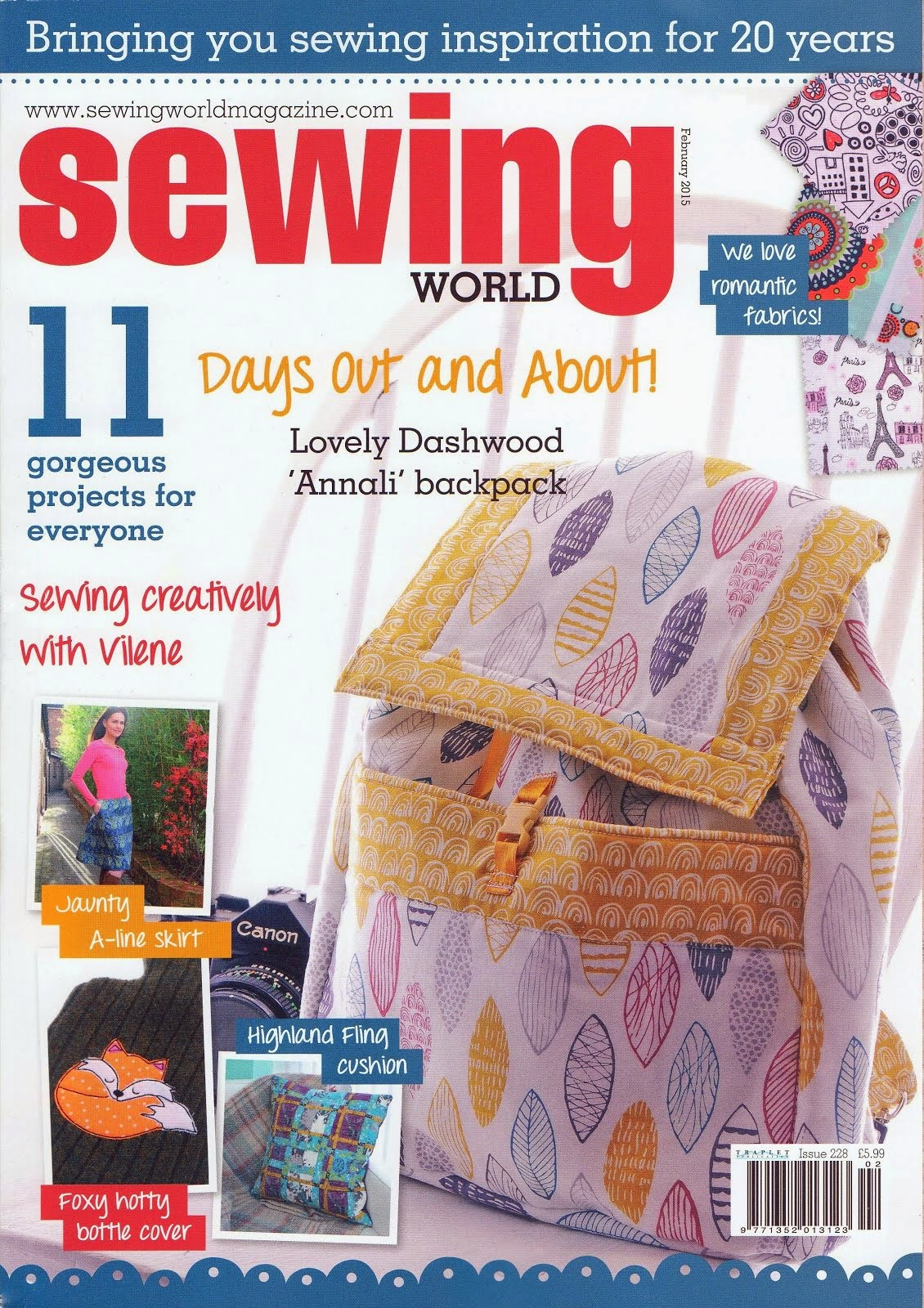 Sewing World February 2015