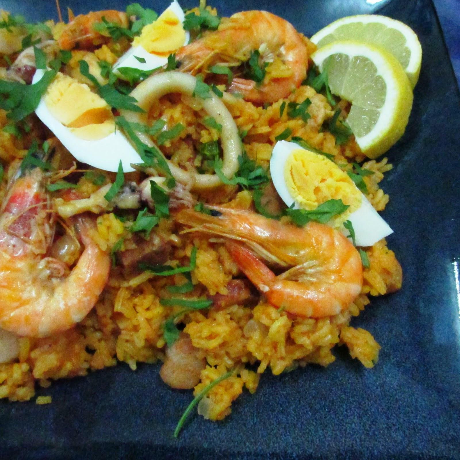 Darlene Cooks: Paella