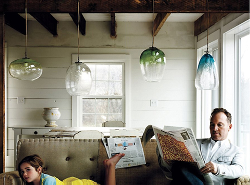Use Vintage Inspired Lighting To Create Anthropologie Style