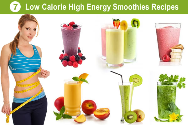 Low Calorie High Energy Smoothies Recipes