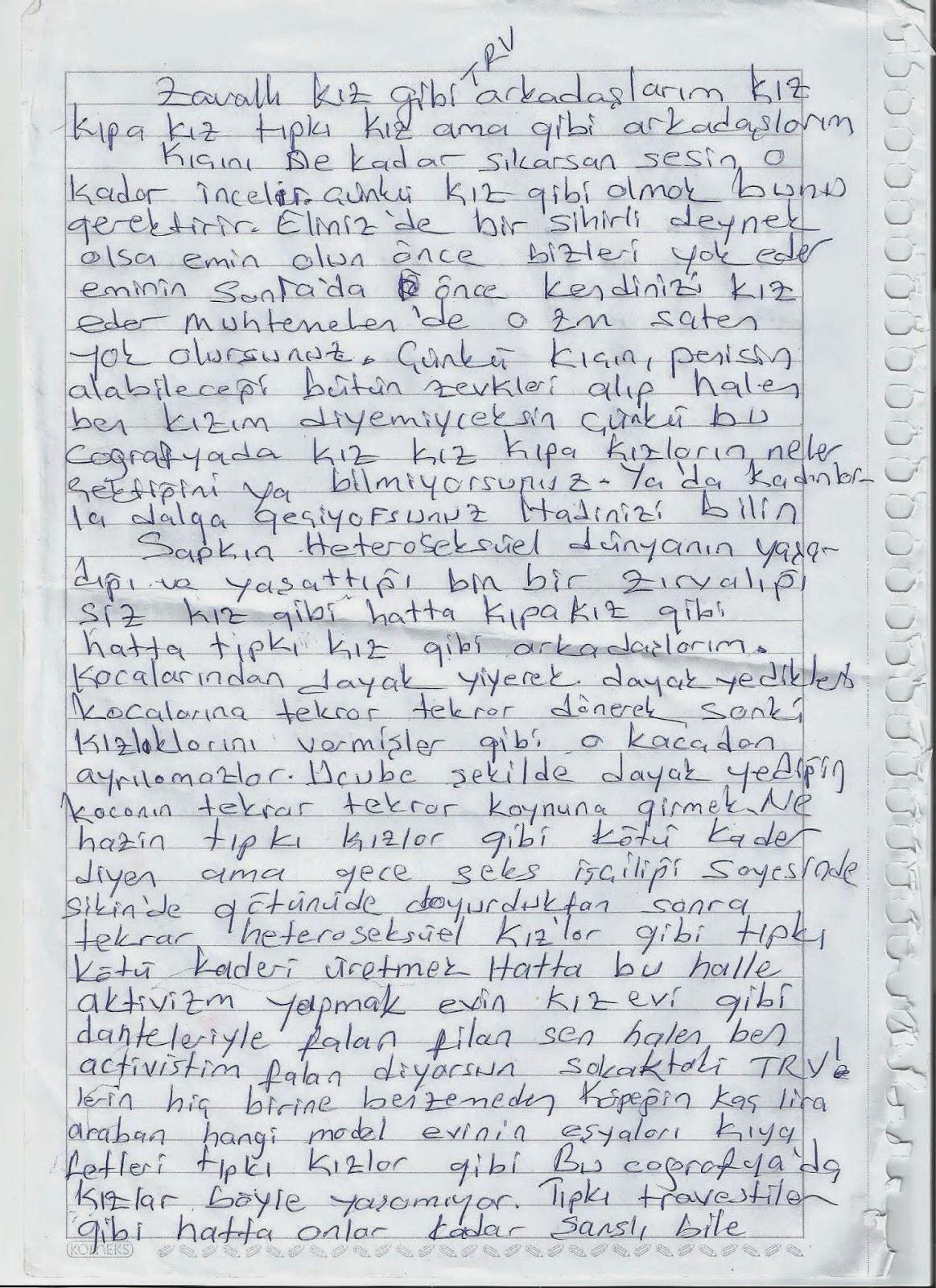 el yazması - 1
