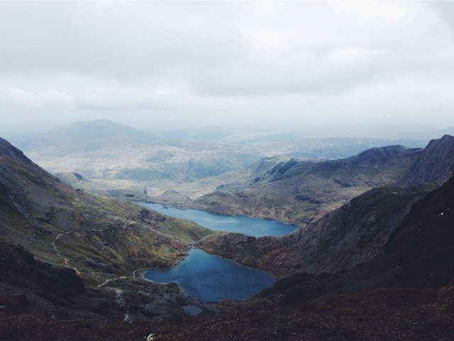 Snowdon | Laura Mauger via A Little Grey