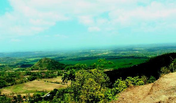 panorama wisata alam girimulyo - puncak moyeng