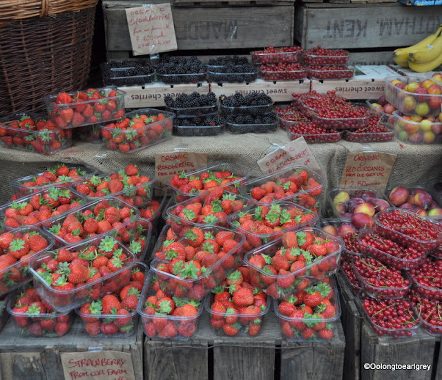 Strawberries, Borough Market, London