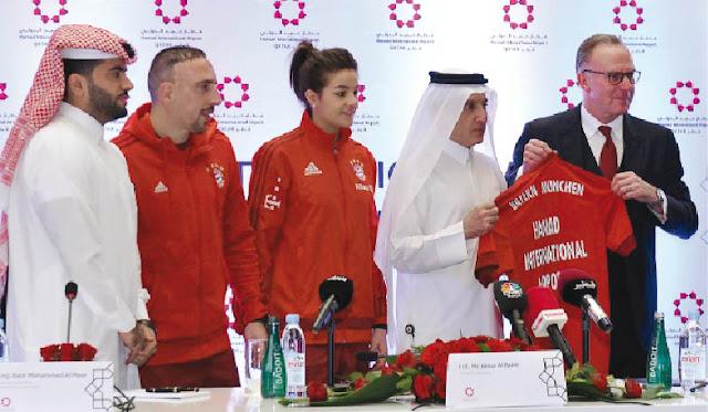 El Bayern se adelanta al Barça y firma con el único aeropuerto de Qatar