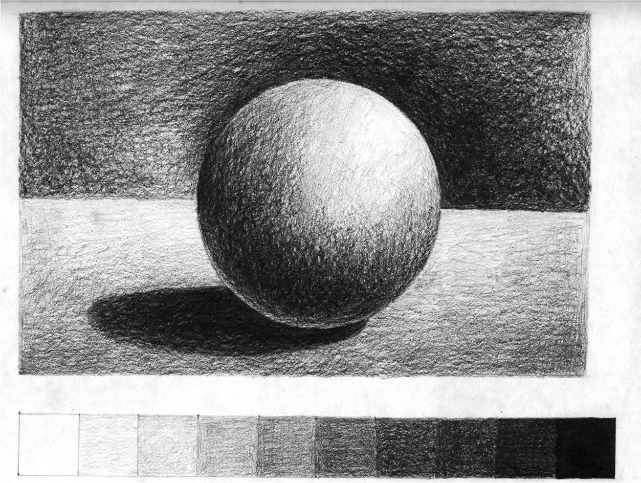 Value And Balance In Art : Corso di grafica e disegno per imparare a disegnare