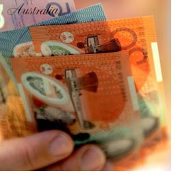 Aussie Dollar Hits High Against UK Pound