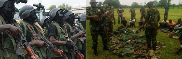 boko haram informants nigerian army