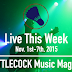 Live This Week: Nov. 1st-7th, 2015
