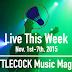 Live This Week: Nov. 1st-7th, 2015