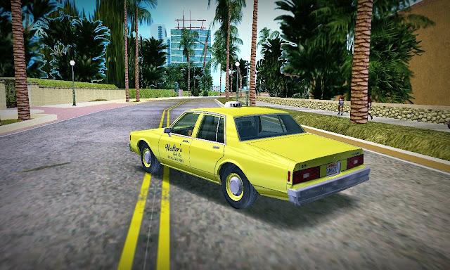 Chevrolet Impala Taxi 1983 GTA Vice City