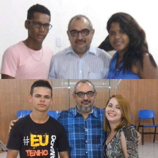 Daniel e Michelly, Ivo e Jessica.