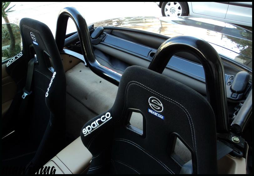 Jdmbits Mazda Mx5 Miata Black Style Bar