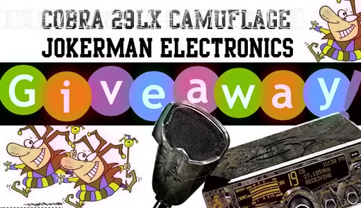 jokerman Electronics giveaway