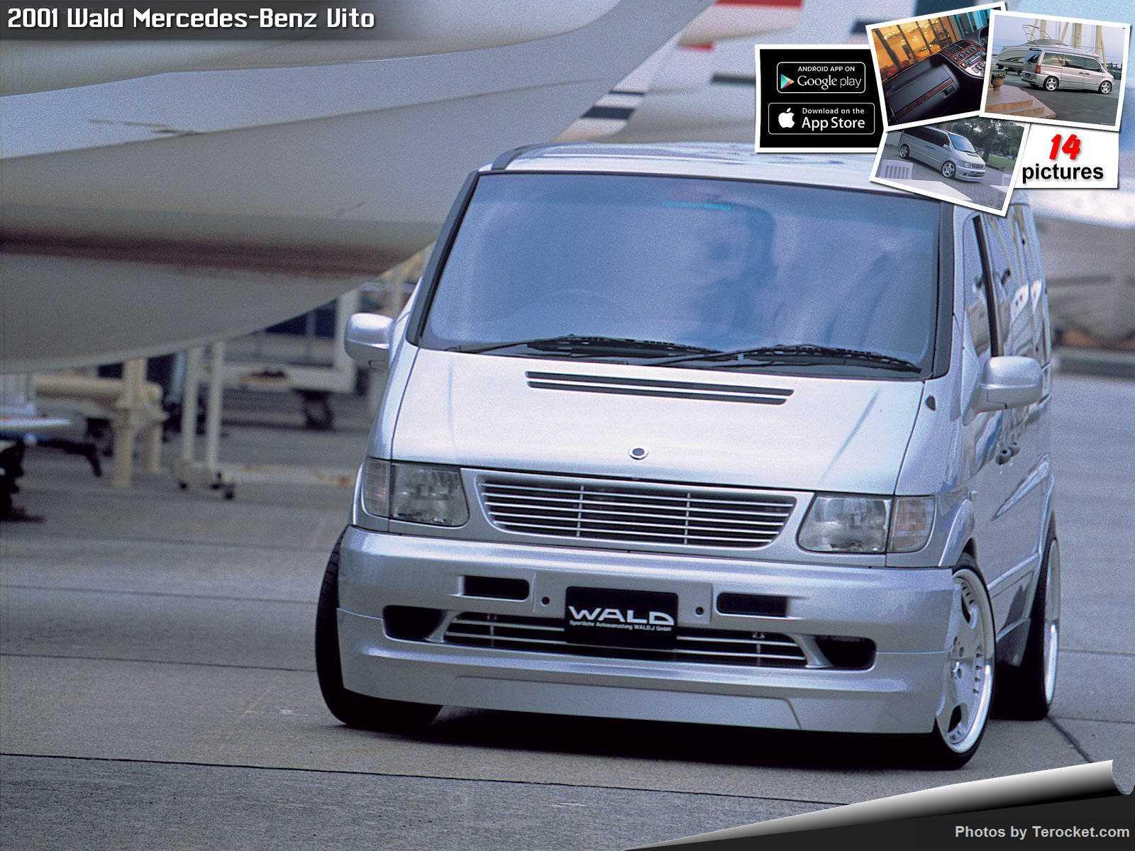 Hình ảnh xe độ Wald Mercedes-Benz Vito 2001 & nội ngoại thất
