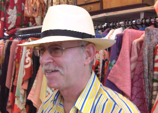 Man wearing Panama Hat from The Hat House NY