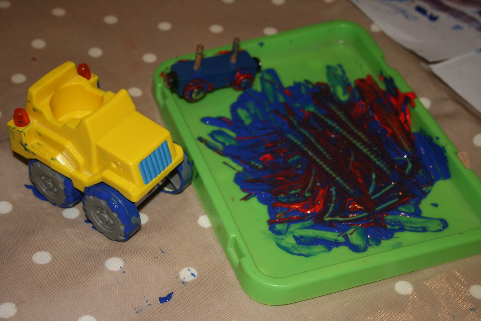 Toys For Painting : Paint tracks the imagination tree