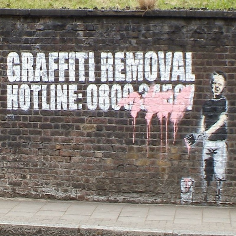 15 Of Banksy's Most Iconic Street Artworks - Graffiti Removal Hotline