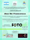 Diplomas representación actoral, El Arte Te CompArte, Argentina