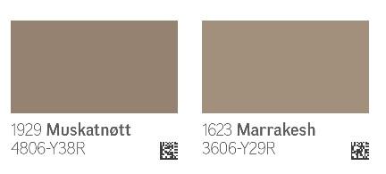 Begge disse fargene er helt nydelige, et lite tips er å velge en ...