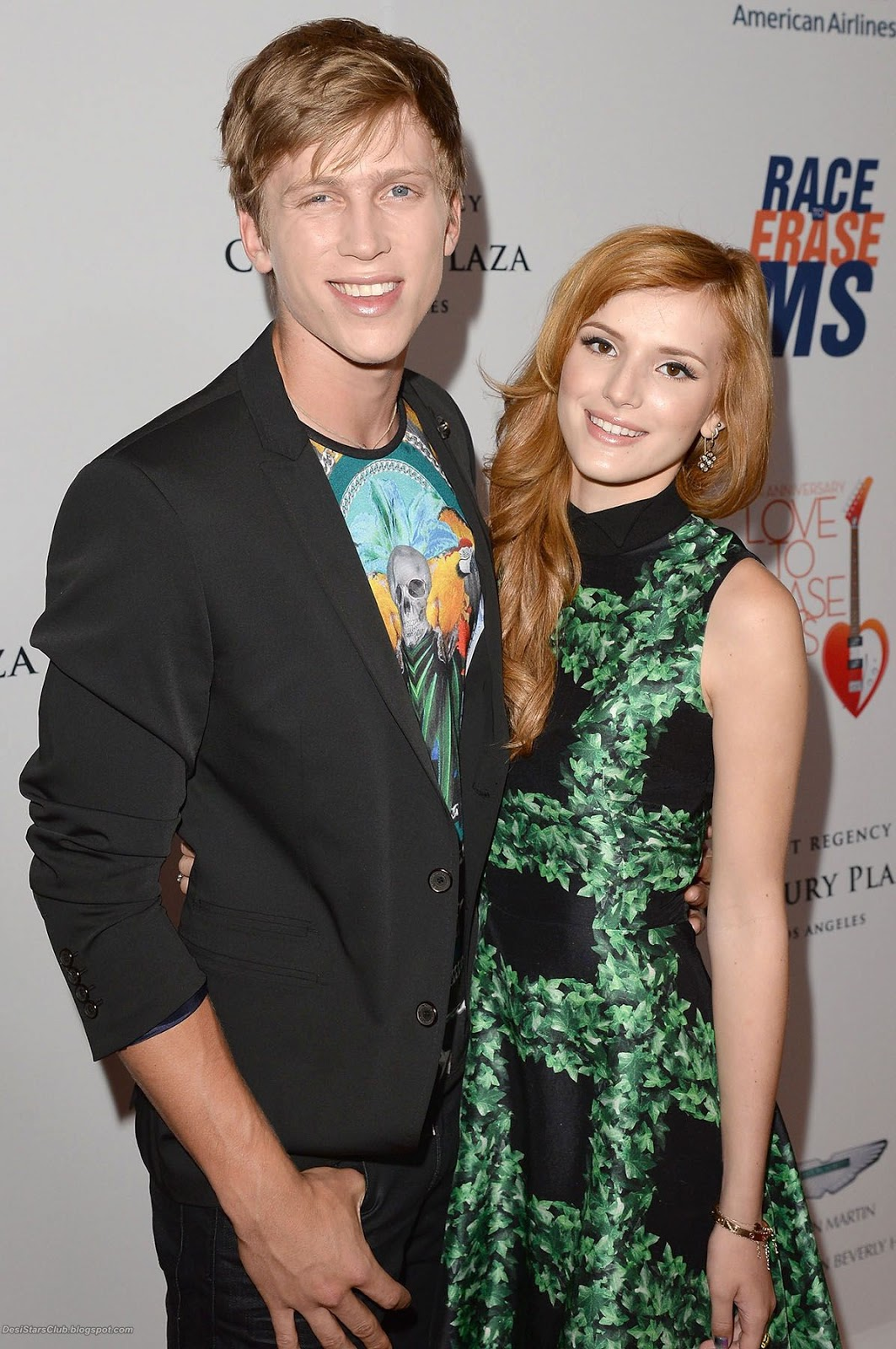 Bella Thorne Photos at 20th Annual Race To Erase MS Gala
