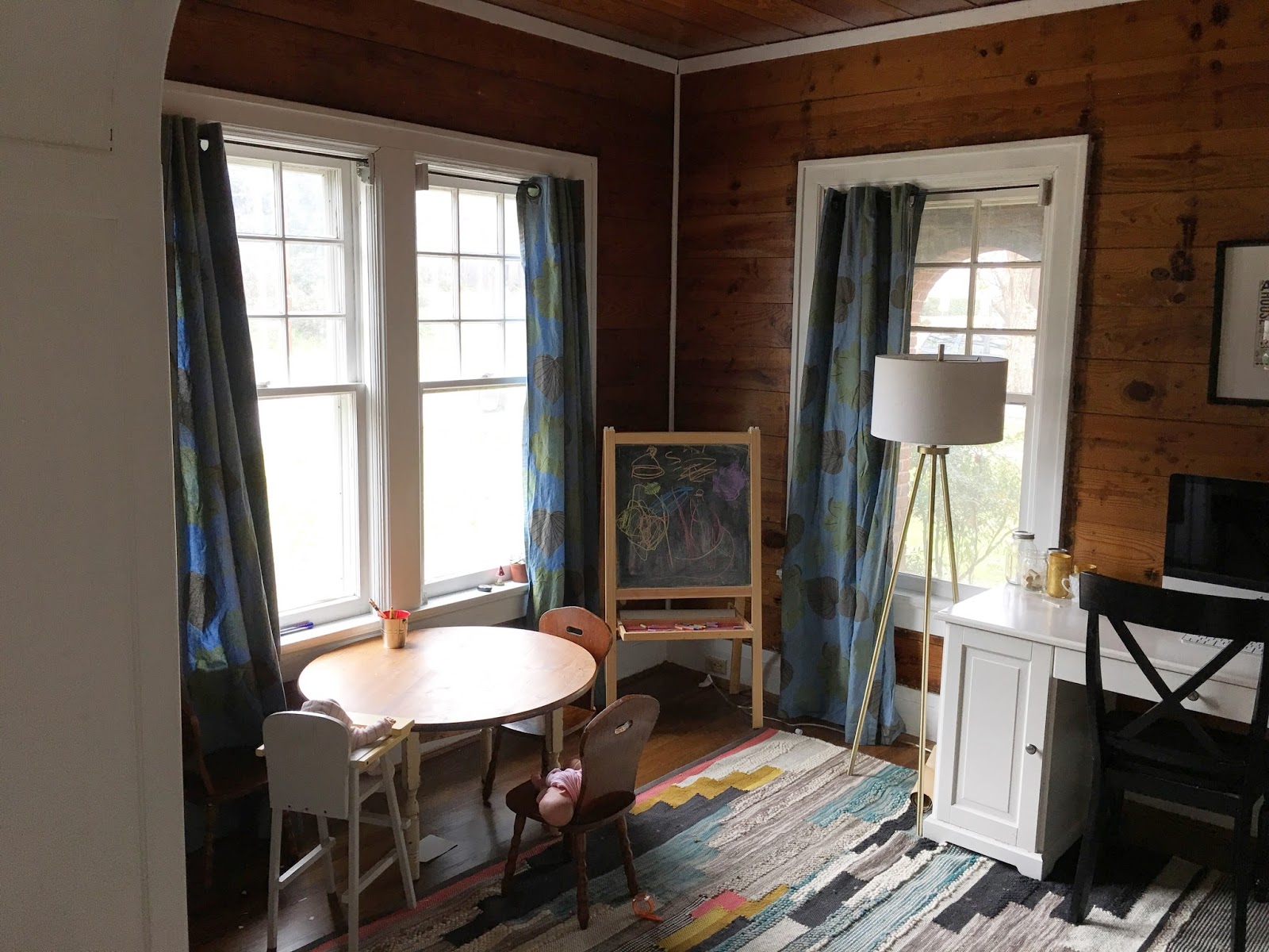 Drop cloth curtains dyed - How To Update Curtains With Dye