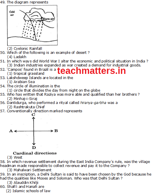 CTET SEPT 14 Solved Q. Paper-II Part-3 (SS)-ii.photo