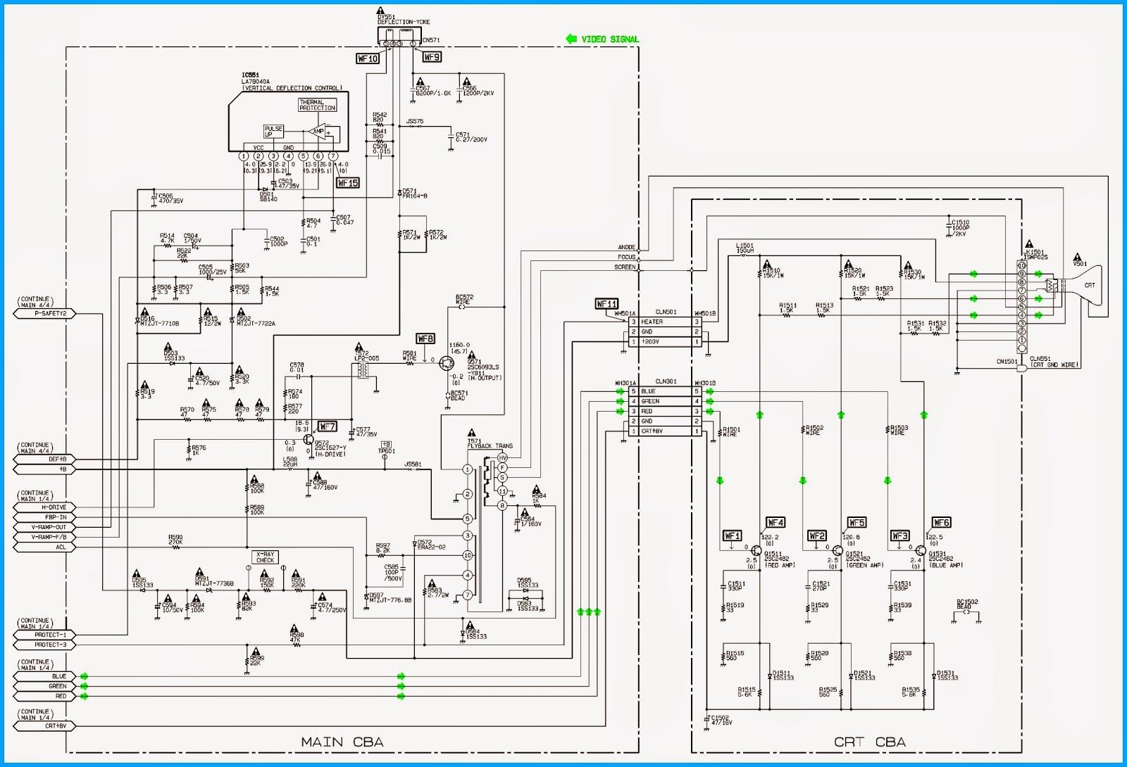 Emerson Cr202em8 How To Enter Service Mode Schematic Diagram Schematics Tuner Video If