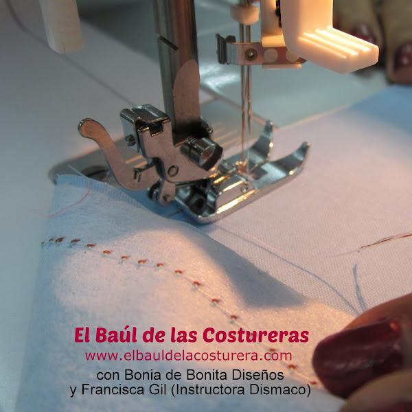 Máquina de coser Bernette Moscow 2 aguja doble