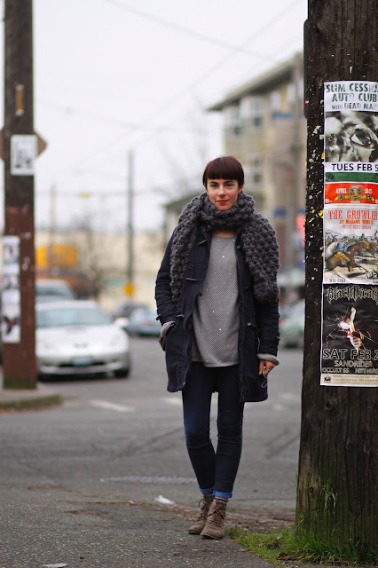 Daria Koshker Oversize Scarf Seattle Street Style fashion it's my darlin'