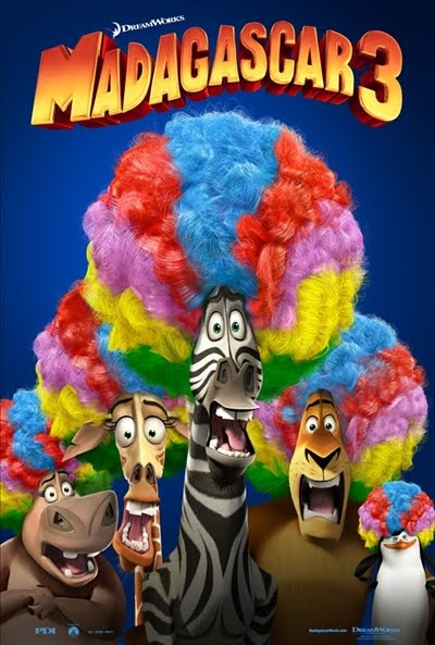 Madagascar 3: De marcha por Europa (2012)