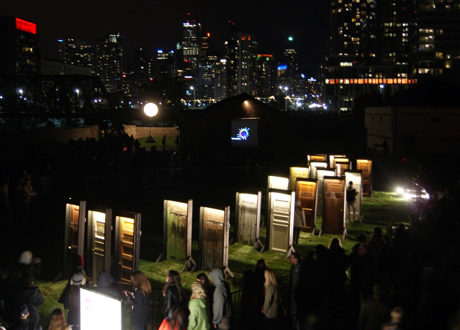 Nuit Blanche 2014: Between Doors, 2014 by Labsapce Studios at Fort York, Art, Artmatters, Culture, events, The Purple Scarf, Melanie.Ps, Ontario, Canada, Installations, Performances