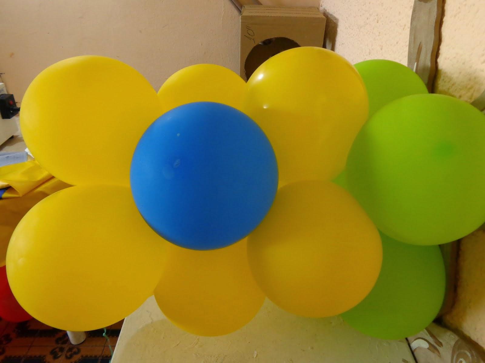 Como Fazer Trançado Flor de Balões