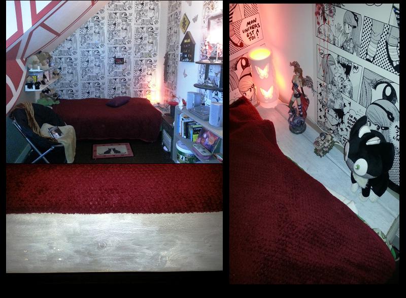 D co chambre manga for Description d une chambre de fille