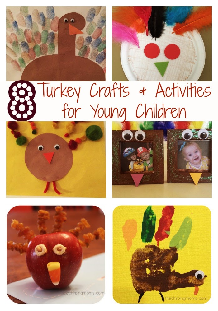 Turkey Crafts & Activities : The Chirping Moms