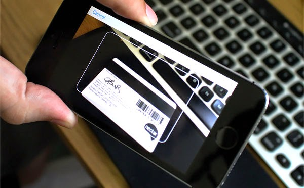 Safari Credit Card Scanning In iOS8