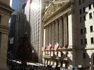 het gebouw van de New York Stock Exchange